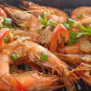 Geritos Buttered shrimp