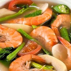 Geritos Shrimp Sinigang
